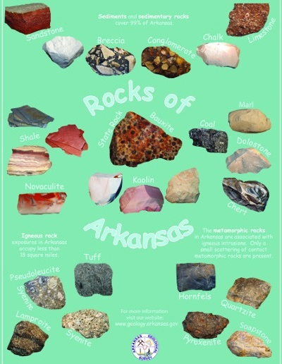 Rocks of Arkansas poster 2012