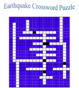 earthquake crossword