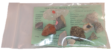 12 sample rock packet