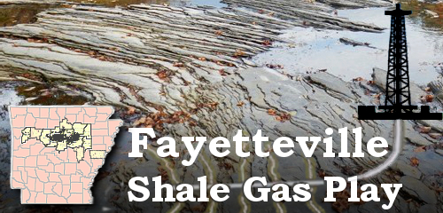 Fayetteville Shale Map Series