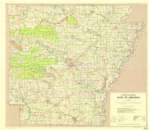 Base Map of Arkansas image