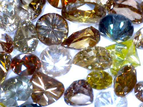 diamonds-faceted-industrial mneral